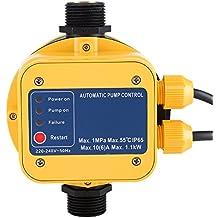 IP65 220 V controlador de presión bomba de agua presostato automático electrónico controlador de presión con