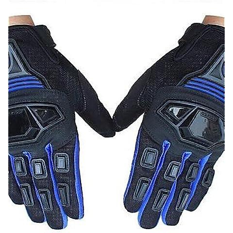 DZXGJ® de invierno de alta calidad a prueba de viento caliente del deporte de la bici de carreras lleno de dedos de guantes de protección motocross guantes , xl-black&blue ,