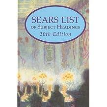 Sears List of Subject Headings by Joseph Miller (Editor), Susan McCarthy (Editor) (15-Jun-2010) Hardcover