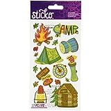 Sticko Stickers-Camping Fun