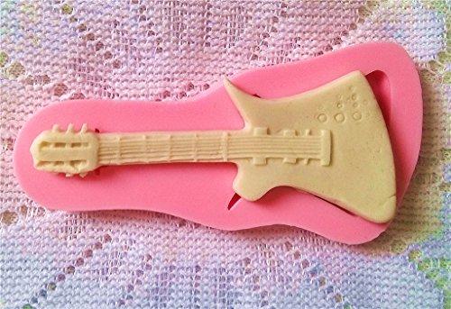 CAOLATOR Silikon Backform 3D Mini Musikinstrumente Gitarre Form Kuchen Form Werkzeug Silikon Form Handgefertigte Form - 2