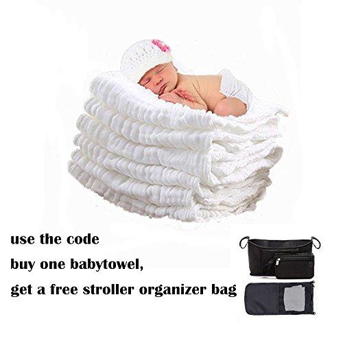 Lucear Musselin Warme Babybadetücher