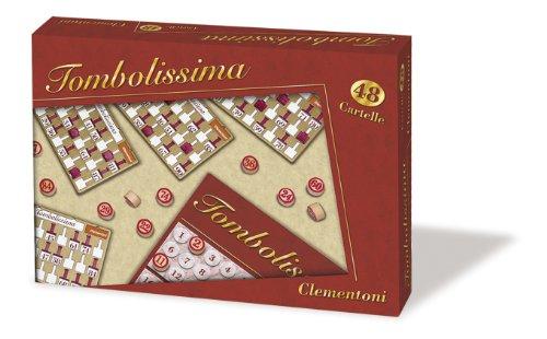 Clementoni 16545 - Tombolissima, 48 Cartelle