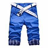 Estate Degli Uomini Pinocchietti Nuovi Pantaloni Di Scarsita Di Modo Casuale Sottile Mette In Mostra