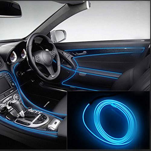 Topmountain - parti interne di componenti auto strisce di luci flessibili universali striscia di luci al neon