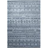 wecon Home Alfombra Contemporary Kelim WH de 0658–05, gris, 120 x 170 cm