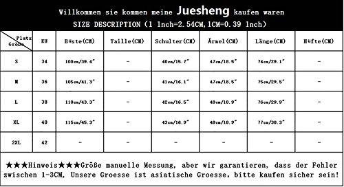 Juesheng - Copricostume -  donna Bianco