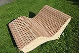 Eggers Sonnenliege Sonnenliege aus Holz - Doppel