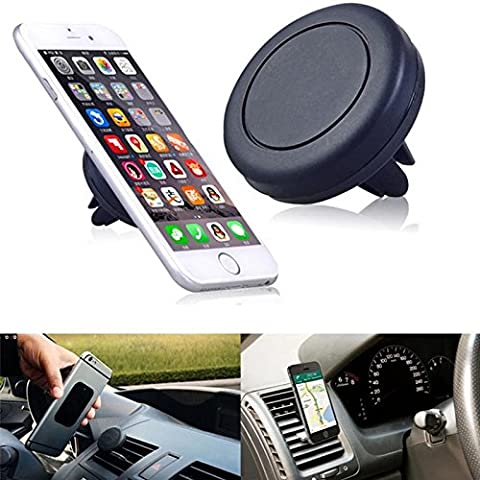 Support smartphone magnetico air voiture évents support universel