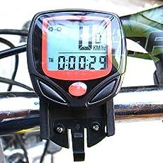 Aeoss A256 Waterproof Digital LCD Bicycle Computer Odometer Speed meter Bike 14 Functions