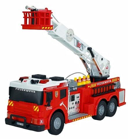 Dickie Toys 203719001–Fire Rescue, kabelgesteuertes Pompiers voiture, 62cm