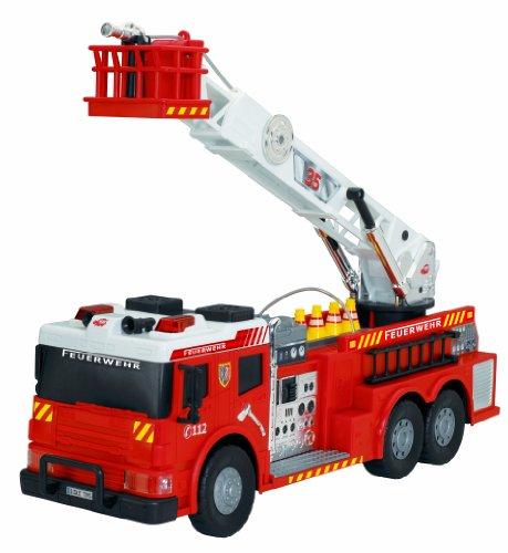 feuerwehrauto dickie Dickie Toys 203719001 - Fire Rescue, kabelgesteuertes Feuerwehrauto, 62 cm