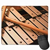 Deglogse Gaming-Mauspad-Matte, Smooth Mouse Pad Xylophone Play Mobile Gaming Mousepad Work Mouse Pad Office Pad