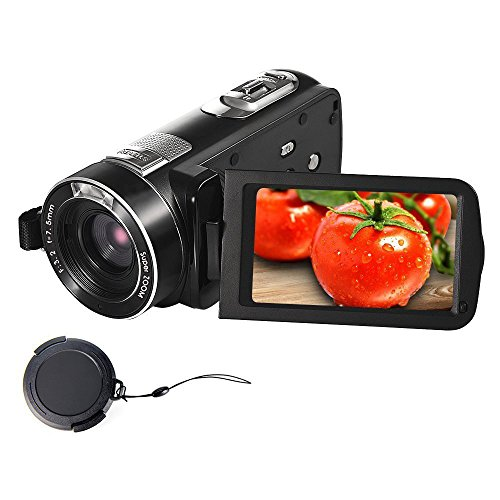 Videokamera Camcorder Full HD 1080p Camcorder Kamera 24.0MP 18x Digitalzoom 3.0