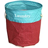 TiedRibbons® Laundry Cloth Basket | Laundry Basket for Kids Clothes | Dirty Clothes Basket | Basket Organizer for Clothes (110 Ltr)
