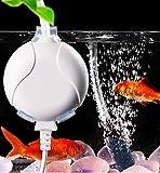 ELETEK Sauerstoffpumpe für Aquarium Mini Leise Aquarium Luftpumpe für...