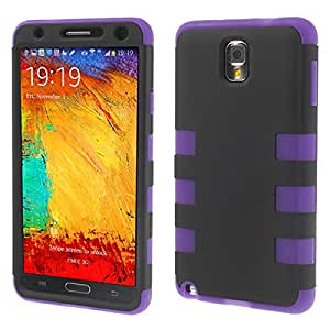 Abstrakt Rubberized PC Case for Samsung Galaxy Note 3 + Anti Glare Scratch Guard
