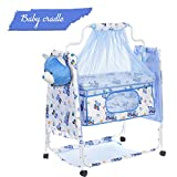 Fun Baby Cozy New Born Baby Cradle/Baby Swing/Baby jhula/Baby palna/Baby Bedding Set/Crib/Bassinet