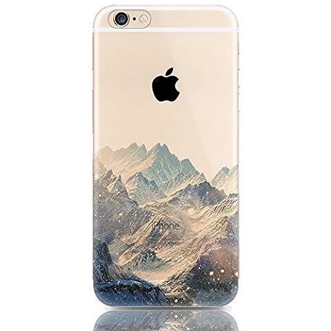 Hülle für iPhone 6/6S 4.7Zoll, Sunroyal® Silikon Gel [Kratzfeste, Scratch-Resistant], TPU Case Schutz Hülle Soft Protective Silikon Clear Case
