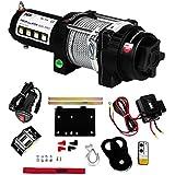 MSW - Treuil offroad PROPULLATOR 3500-PRO - 1587 kg - Crochet et poulie de guidage - Radiotélécommande - Frais d'envoi inclus