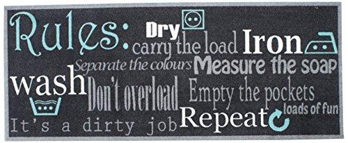 Preisvergleich Produktbild Dandy 2373 Küche Läufer 120 x 50 Wäsche,  andere,  Blau