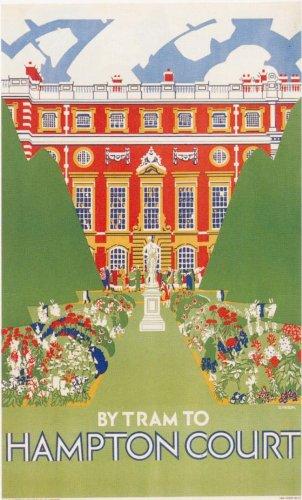 london-underground-hampton-court-1927-lu056-matte-paper-a3-size