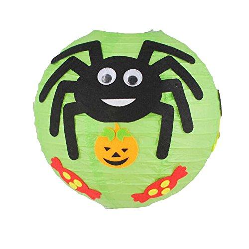 Black Temptation DIY Ornamente Halloween Serie Laterne handgemachte Material Kit Set 2