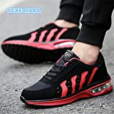 Turnschuhe Herrenschuhe Luftpolster Größe 36 - 44 Sandalen Schuhe für Männer mesh Sport Schuhe Männer Marke Jogging Trainer SH 228, rot, 8,5