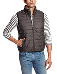 Lee Mens Polyester Jacket (8907222307240_LEJK1197_X-Large_Brown)