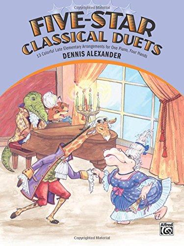 Five-Star Classical Duets por Dennis Alexander