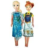 #5: Halo Nation Frozen Sister Doll Anna & Elsa Big Size 42 cm