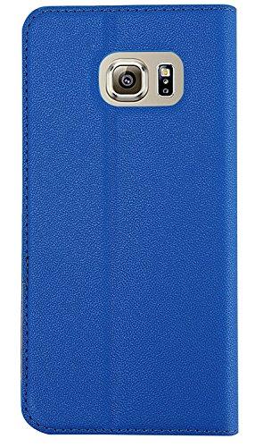 Samsung Galaxy S6 Edge Plus iLee T-Cases Premium PU Leather Magnetic Flip Case Cover