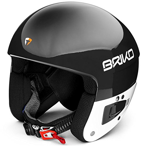 Briko Vulcano Fis 6.8 Jr, Casco da Sci Unisex Bambini, 904N003/Black, XS