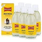 Ballistol Animal Tierpflegeöl 100ml - Für Haut, Pfoten und Fellpflege (6er Pack)
