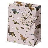 Lustige Dinosaurier Geschenktasche Klein