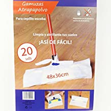 Ferreikea - Gamuzas atrapapolvo para cepillo- escoba,48x36cm, 20uds/paquete (6