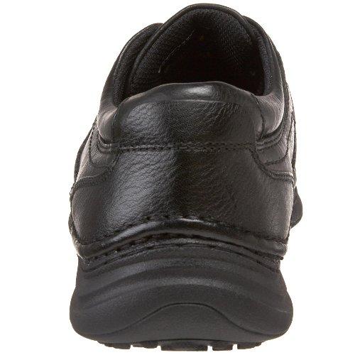 Nunn Bush Vince Hommes Cuir Chaussures de Travail Black