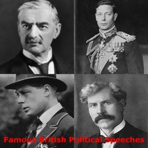 Famous British Political Speeches  Audiolibri