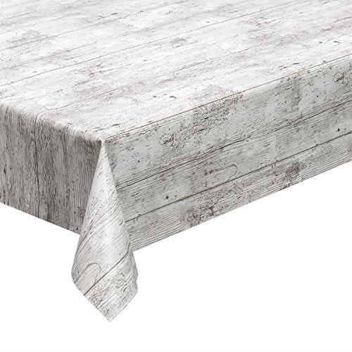 haga-wohnideen - Mantel lavable, estilo madera (1,4 m², de PVC, ancho 140...
