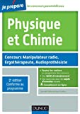 Physique et Chimie - 2e éd - Concours Manipulateur radio, Ergothérapeute, Audioprothésiste