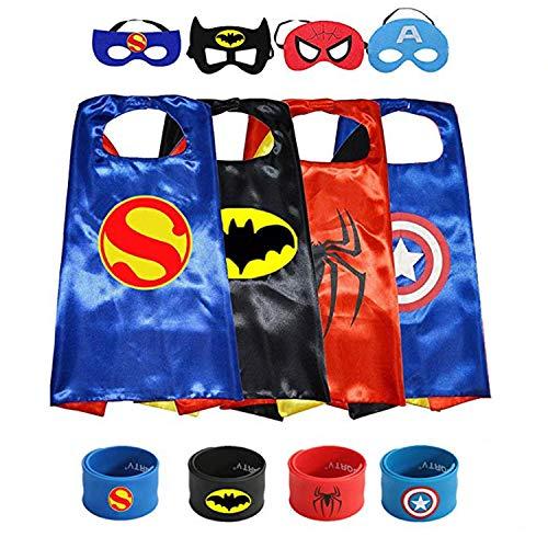OMZGXGOD - Superheld verkleiden (4 - Kind Leuchten Batman Kostüm