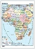 mapa escritorio áfrica físico / político