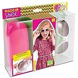 Style Me Up - Basteln Mädchen - Kinder Sonnenbrillen Mädchen - Sonnenbrillen und Etui selber dekorieren - Besondere Geschenke für Kinder - SMU-315