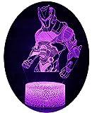 3D Illusion Nuit Lumière Win-Y LED Bureau Table Lampe 7 Couleur Tactile Lampe Maison Chambre Bureau Décor pour Enfants D'anniversaire De Noël Cadeau (OMI)