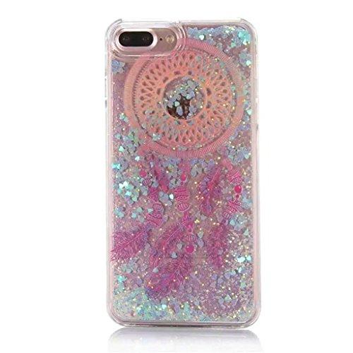 iPhone 6/6S Coque - 3D Design Créatif Prime Luxe Shine Flow Sand Adorable Flowing Flottant Mouvement Shine Glitter Sequins Bling Cute Pattern Téléphone Case pour iPhone 6/6S - Born to Shine 12-D