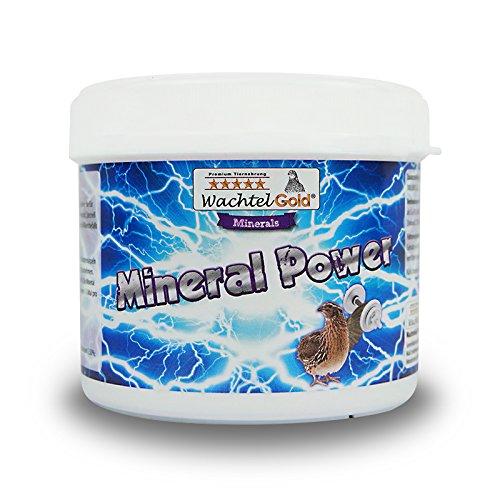 WachtelGold® Mineral Power 250g - Mineralzusatz für Wachteln und Hühner