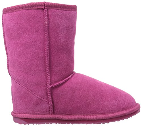 Emu Australia Wallaby Lo, Boots mixte enfant Rose (Hot Pink)
