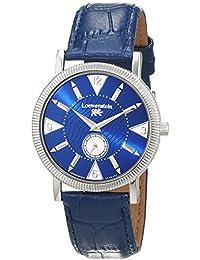 Löwenstein T23168-BL - Reloj de pulsera hombre, Cuero, color Azul