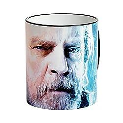 Elbenwald Star Wars Tasse Luke Skywalker The Last Jedi Episode 8 Keramik 320 ml