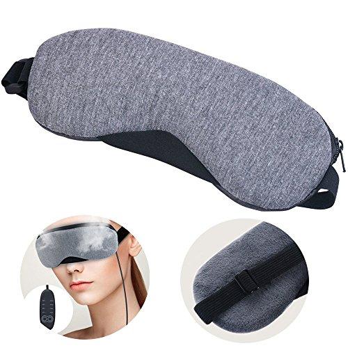 Schlafmasken mit USB-Temperatur Kontrolle und Timing Relief Dry Eye oder müde Augen Nacht Schlaf heißem Dampf Eye Cover (Sleep Mask) -
